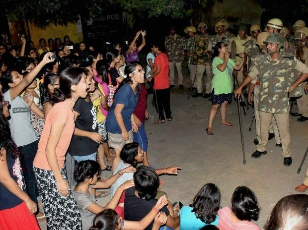 BHU, BHU protest, girl molestation