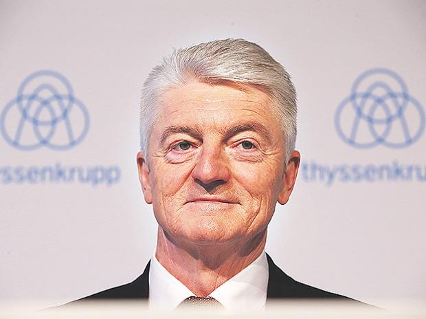 Heinrich Hiesinger, CEO of ThyssenKrupp AG. Photo: Reuters