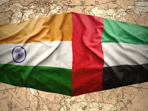 India, UAE, flag