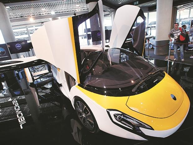 A new crop of start-ups hopes to make the flying car a reality. These include Slovakia's Aeromobil. Photo: Reuters
