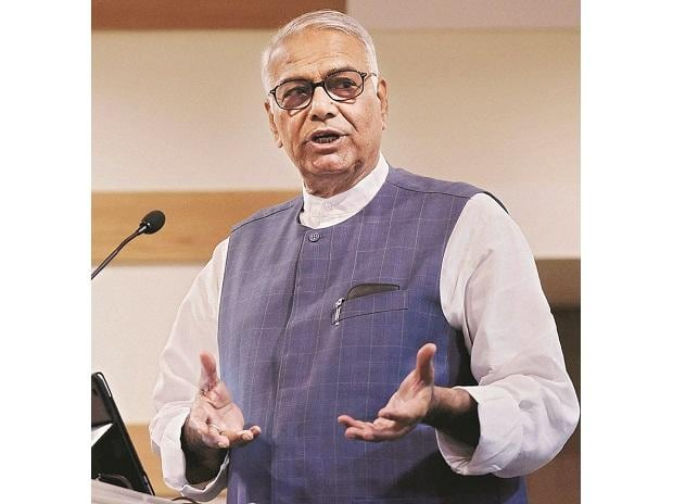 Jaitley's comment is cheap: Sinha on FM's 'job applicant at 80' barb
