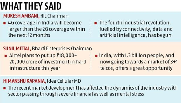 IMC 2017: Mittal & Ambani in sync to  make India a digital society