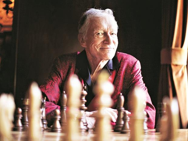 Hugh Hefner's wish was to be buried in a crypt he bought next to the grave  of Marilyn Monroe in Los Angeles. Photo: Reuters