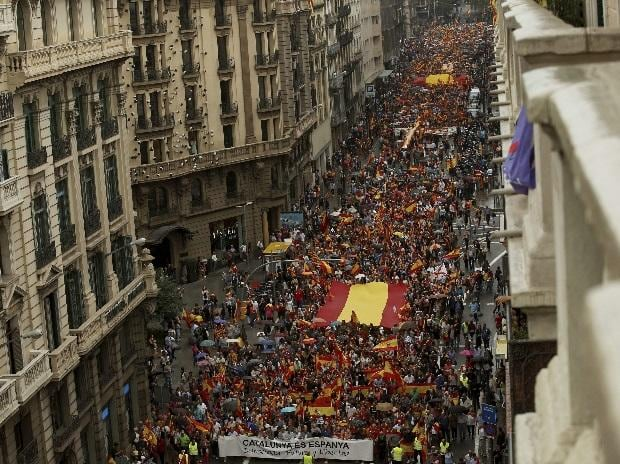 Catalonia, Spain, Catalonians' independence vote, referendum, banned poll, banned referendum, Catalonia