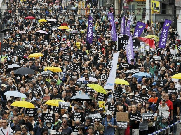 Hong Kong protests, China