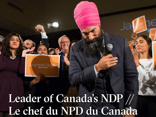 Jagmeet Singh captures NDP leadership, hearts