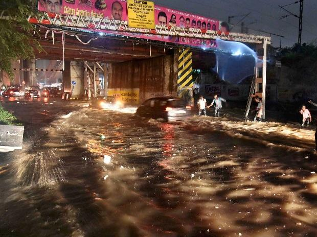 Hyderabad floods, Hyderabad rains