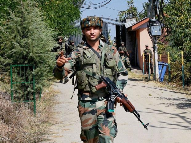 JeM attack on BSF camp 3 terrorists jawan killed near Srinagar airport