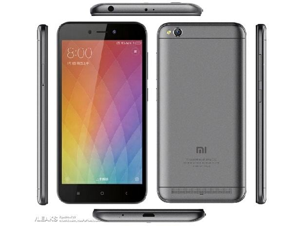 Image render of Redmi 5A