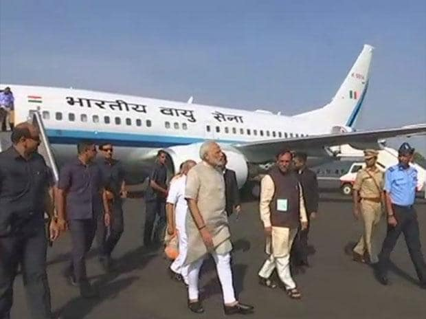 A day after announcement of GST relief, Modi begins Gujarat tour