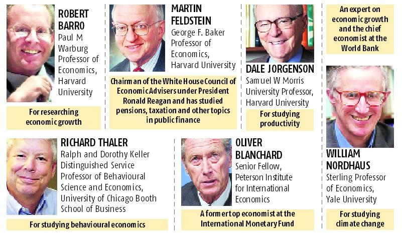 Eyes on Nobel Prize: A look at the possible winners