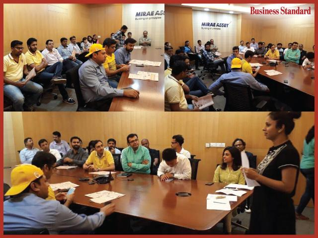 Fridays with Business Standard at Mirae Asset Global Investment (India) Pvt