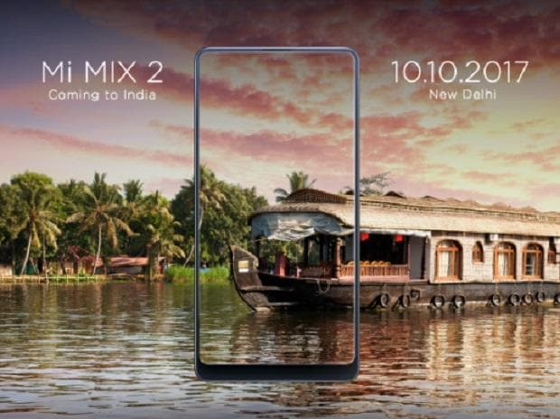 Xiaomi Mi Mix 2 Launching Today in India on Flipkart Exclusive