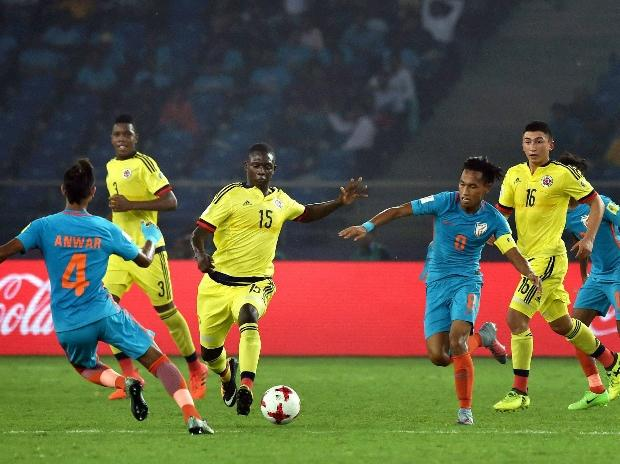 FIFA U-17 World Cup, India, Colombia