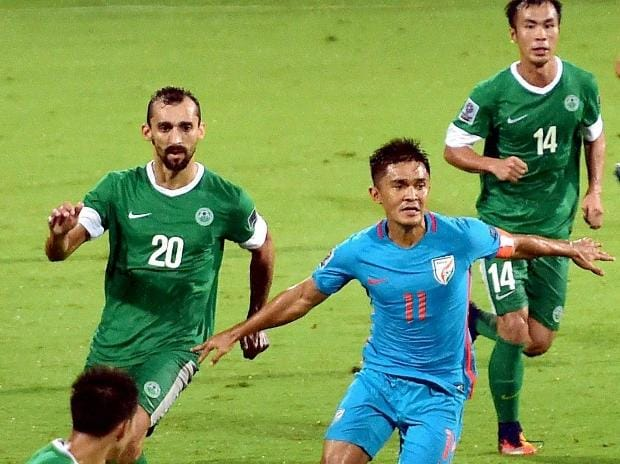 Sunil Chhetri, India, Macau, AFC Asian Cup