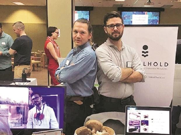 Smallhold co-founders Andrew Carter and Adam DeMartino
