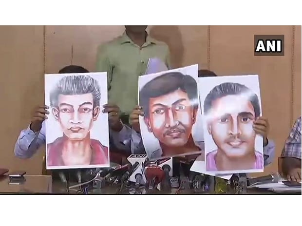 Based on info we made sketches, we want cooperation from ppl so releasing sketches of the suspects: Police SIT. (Photo: Twitter, @ANI)