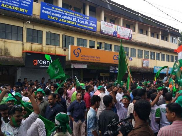 United Democratic Front candidate KNA Khader wins By-poll in Vengara assembly constituency in Malappuram district in Kerala. Photo: AIR twitter handle