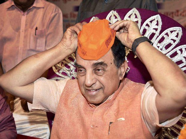BJP MP Subramanian Swamy (Photo: PTI)