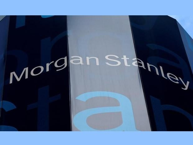 The corporate logo of financial firm Morgan Stanley is pictured on the company's world headquarters in New York, New York January 20, 2015. REUTERS