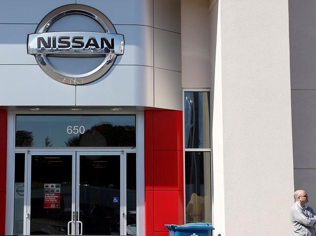 A man seen at outside Nissan Serramonte in Colma, California. Photo: Reuters.