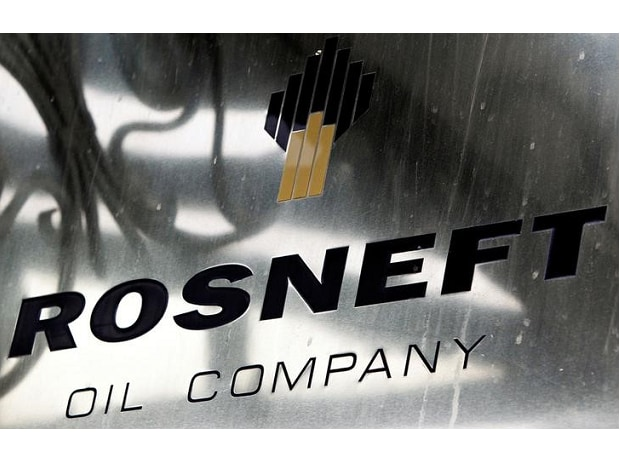 A logo of Russian state oil firm Rosneft is seen at its office in Moscow. Photo: Reuters