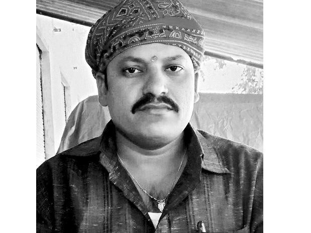File photo of Rajesh Mishra who was shot dead in Uttar Pradesh's Ghazipur district on Saturday. Photo: PTI