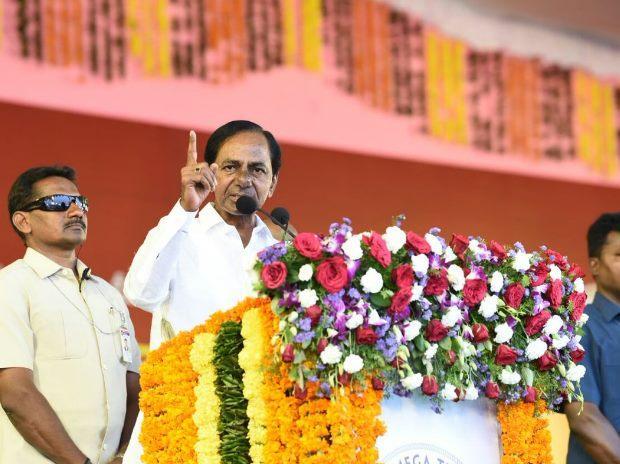Telangana CM lays foundation stone for mega textile park in Warangal