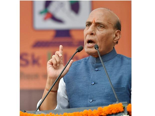 Rajnath Singh. Photo: PTI