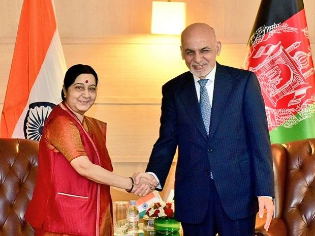 Afghanistan President arrives in India