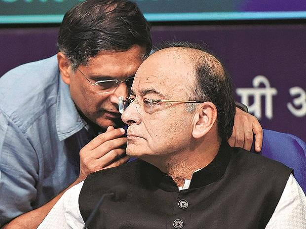The decision to recapitalise the banks is meant to give lenders the ability to offer new credit, Finance Minister Arun Jaitley said at a press conference in New Delhi. Photo: PTI
