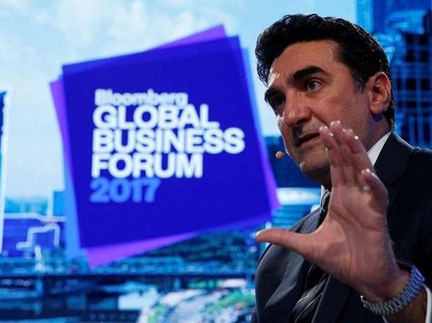 Saudi Arabia's Public Investment Fund (PIF) managing director Yasir al-Rumayyan speaks at the Bloomberg Global Business Forum in New York City. Photo: Reuters