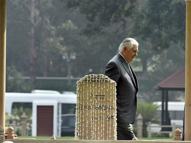 Rex Tillerson's India visit