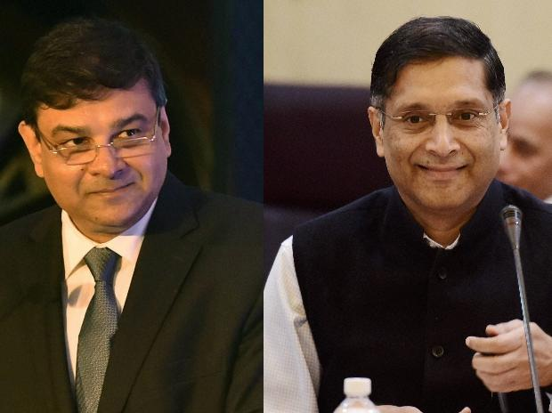 Urjit Patel and Arvind Subramanian