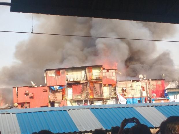 Bandra Station Fire
