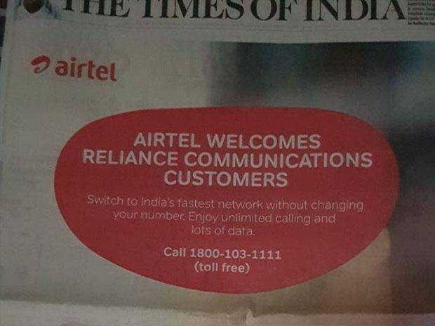 Bharti Airtel Revises the Rs