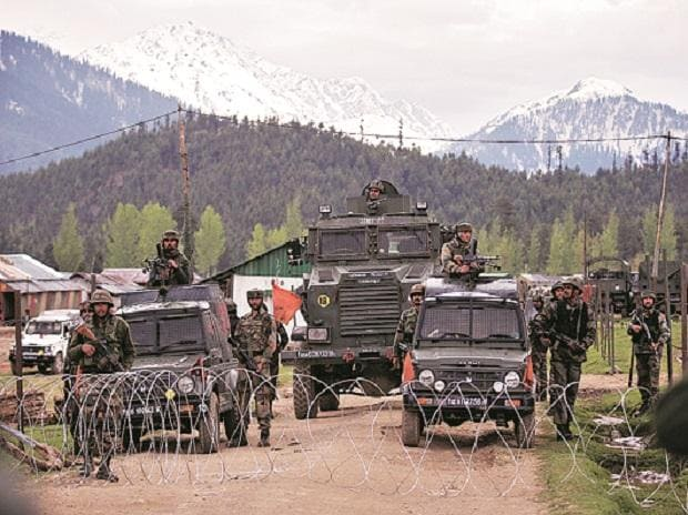 Kashmir, security forces