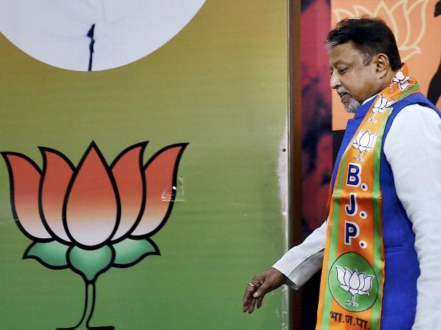 Former TMC Leader Mukul Roy after joining Bharatiya Janata Party in New Delhi. (File Photo: PTI)