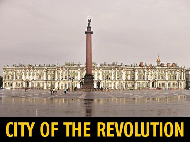 The Winter Palace, St Petersburg, where the Revolution took place. Photo: Nagyman [CC BY-SA 2.0] / Wikimedia Commons