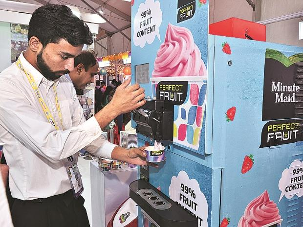 Coca-Cola's frozen fruit dessert, Coca-Cola at World Food India event, World Food India, WFI