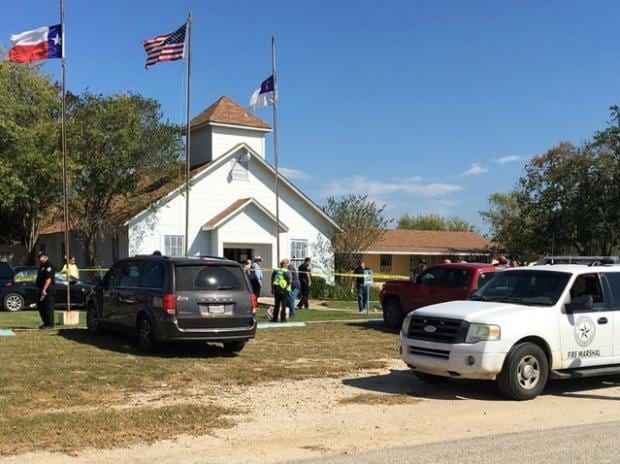 Texas church shooting, Texas shooting