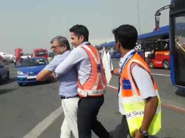 Indigo passenger assault case