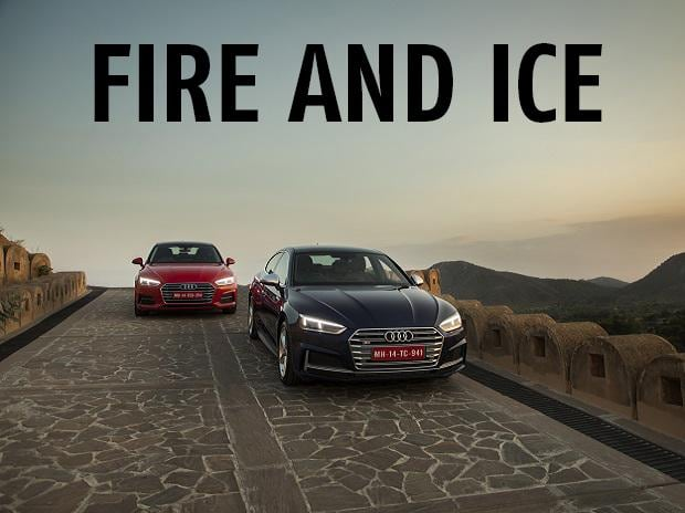 The Audi S5 and A5, like fire and ice