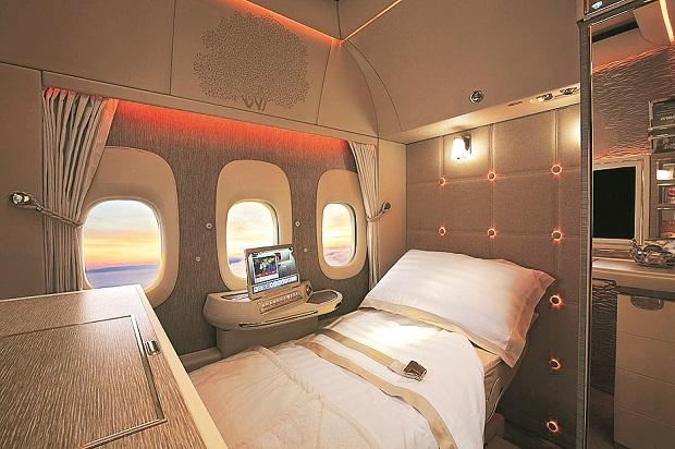 The redesign introduced in Dubai is focused initially on the Boeing 777 aircraft, and Emirates will eventually harmonise the concept across its entire fleet.Photo: Twitter