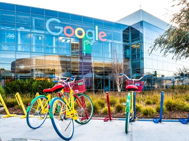 Google Headquarters with bikes on foreground. Photo: Shutterstock