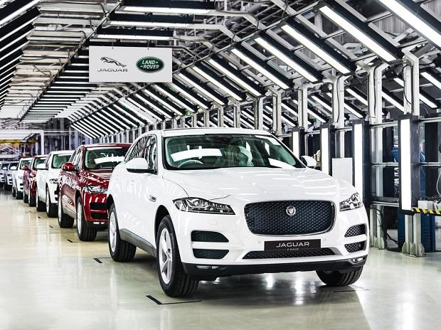 Jaguar F Pace. Photo: @JaguarIndia