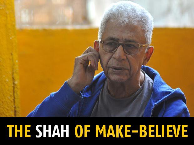 Naseeruddin Shah. Photos: Kamlesh Pednekar