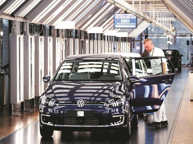 Alongside the automotive-technology spending, Volkswagen plans a five-year, ^72-billion budget for investment on property, plant and equipment. Photo: Reuters