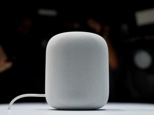 Apple HomePod speaker, HomePod speaker, HomePod