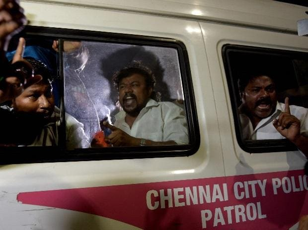 I-T raids on Jaya's home, AIADMK faction protests, AIADMK protests
